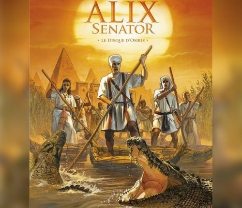 Le disque d'Osiris, saga africa pour Alix Senator