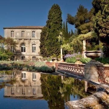 L'abbaye Saint André à  Villeneuve les Avignon