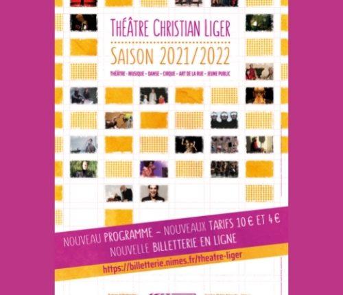 La saison 2021-2022 du Théâtre Christian Liger