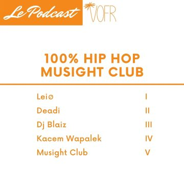 Reportage VOFR sur la 100% Hip Hop du Musight Club